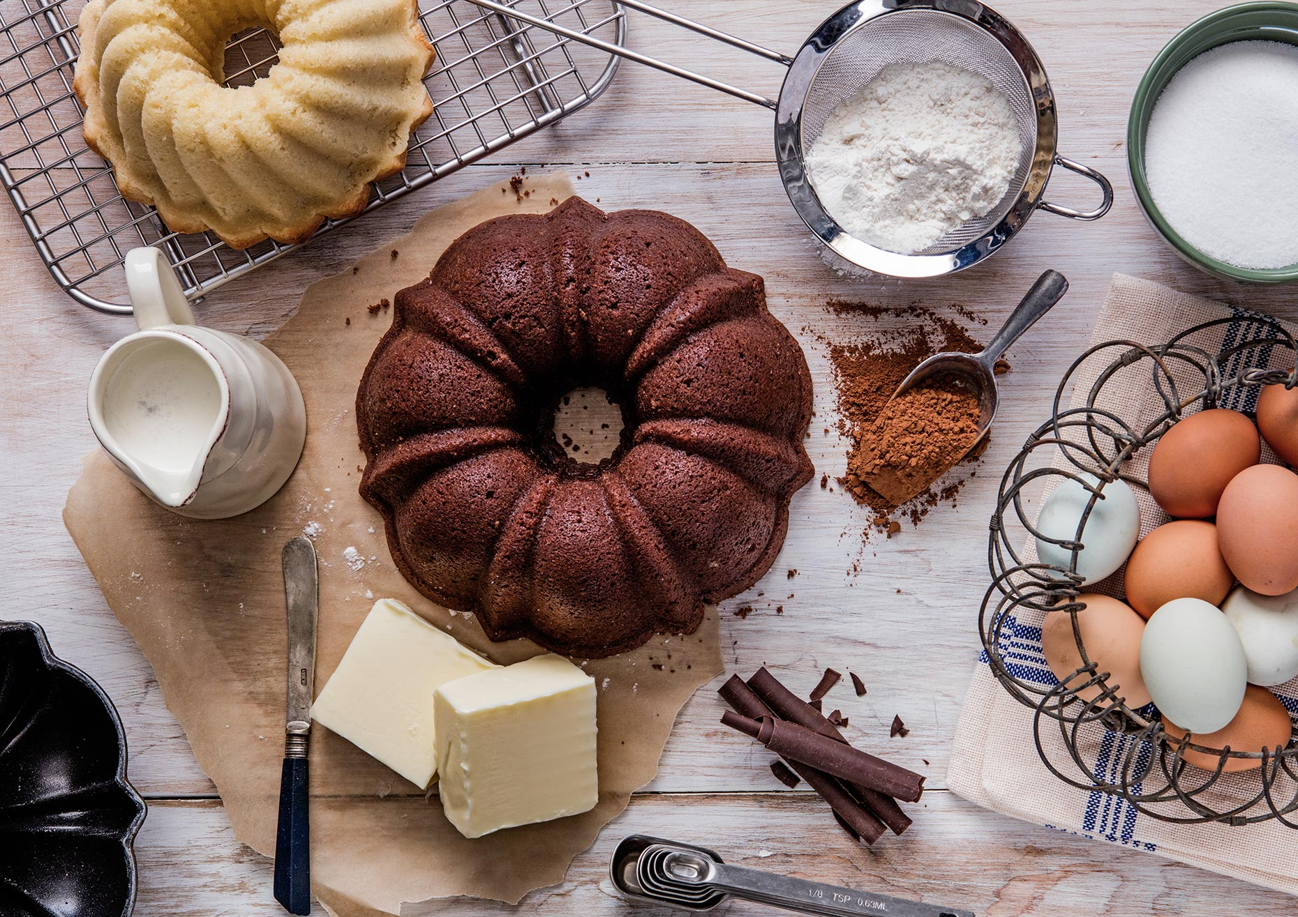 Chocolate Bundt Cake Ingredients