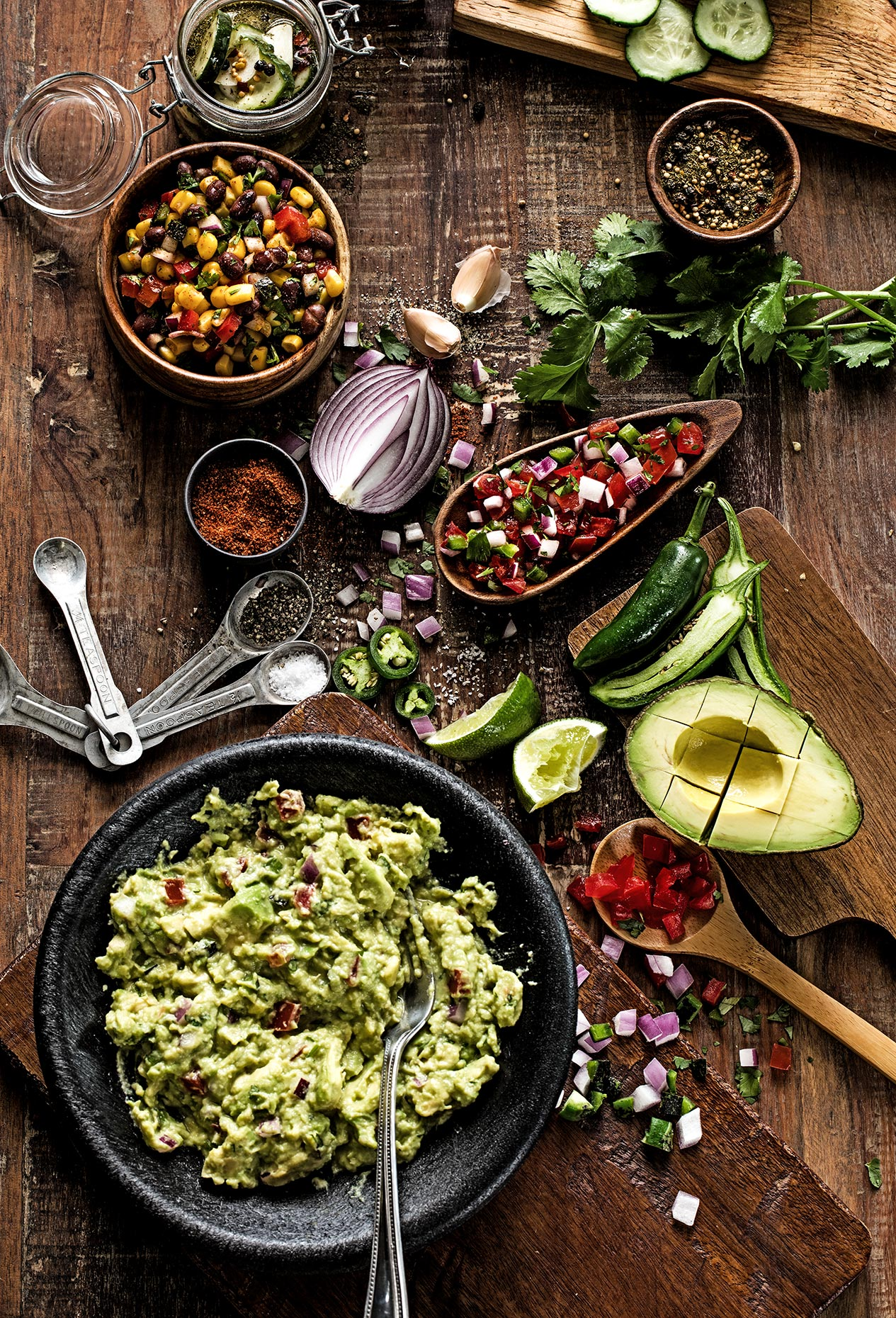 Guacamole Ingredients Dallas Food Photographer