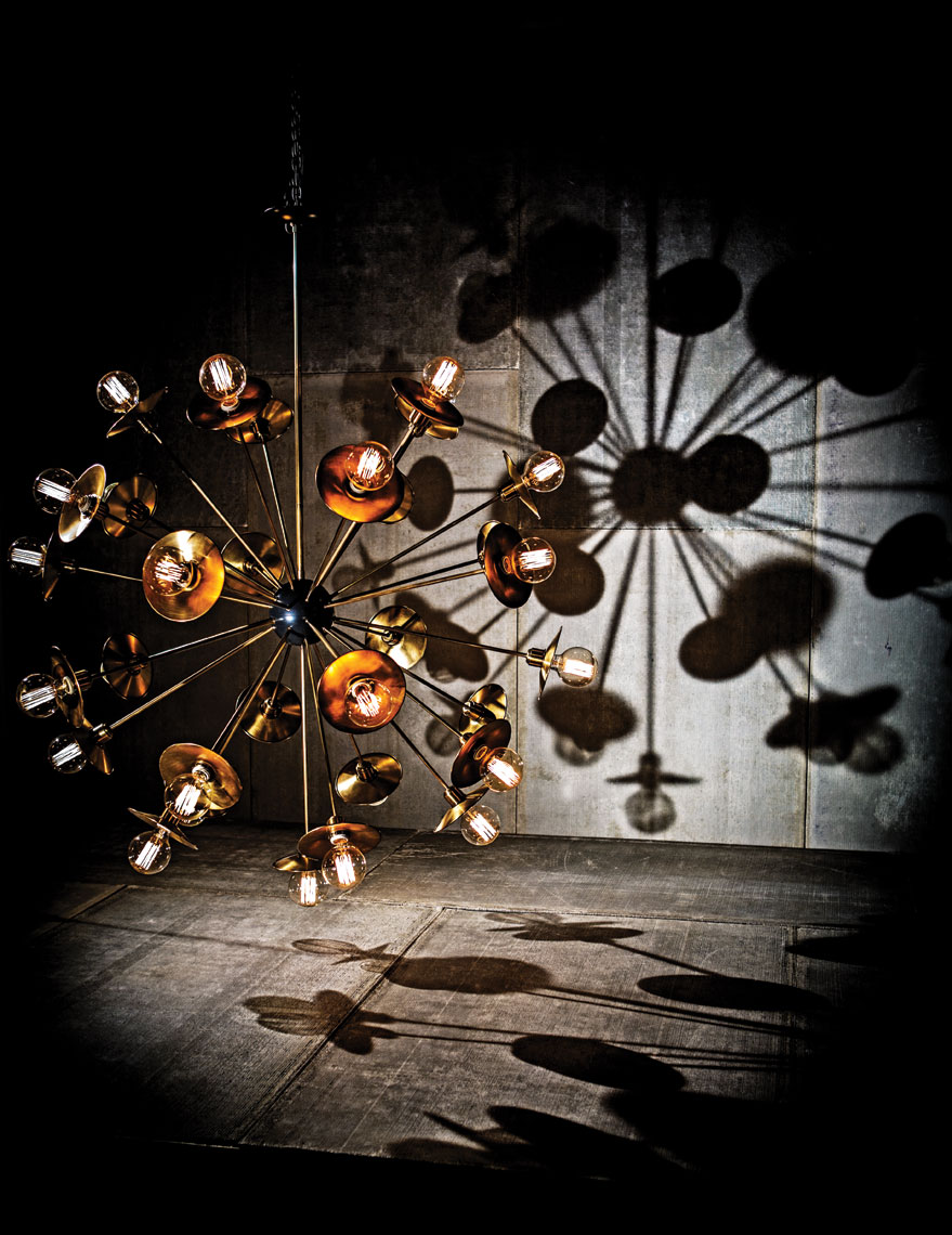 Chandelier home decor Dallas Product Photography