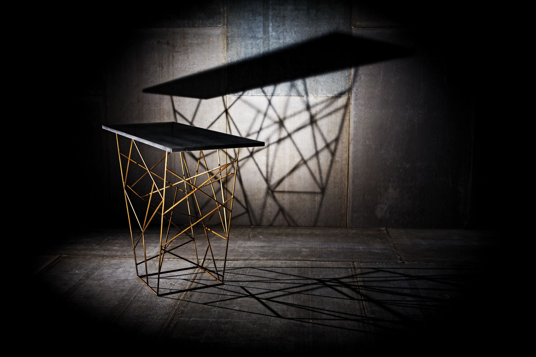 Geometric Table Dallas Product Photography