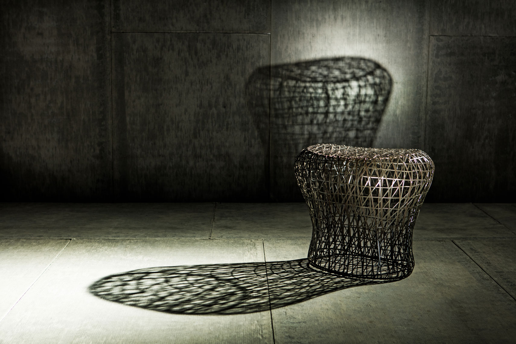 Wire mesh table Dallas product photography